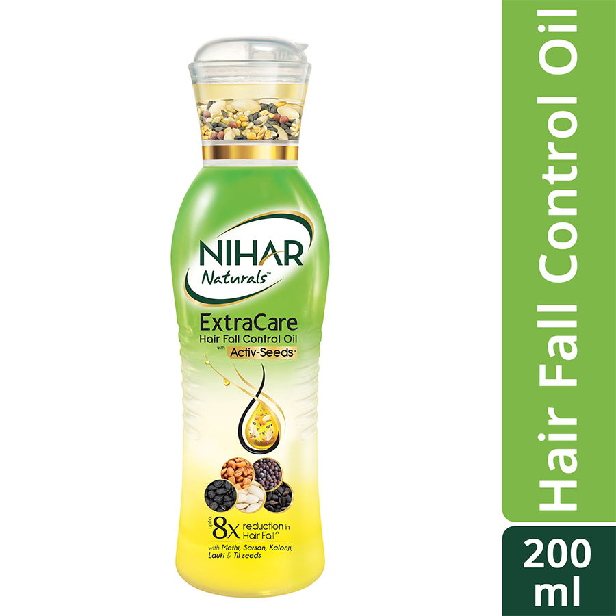 Buy Nihar Naturals Extracare Hair Fall Control Oil Online At Best Price Bigbasket