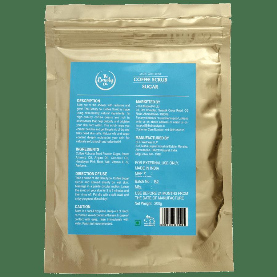 The Beauty Co  Sugar Coffee Scrub, 200 g