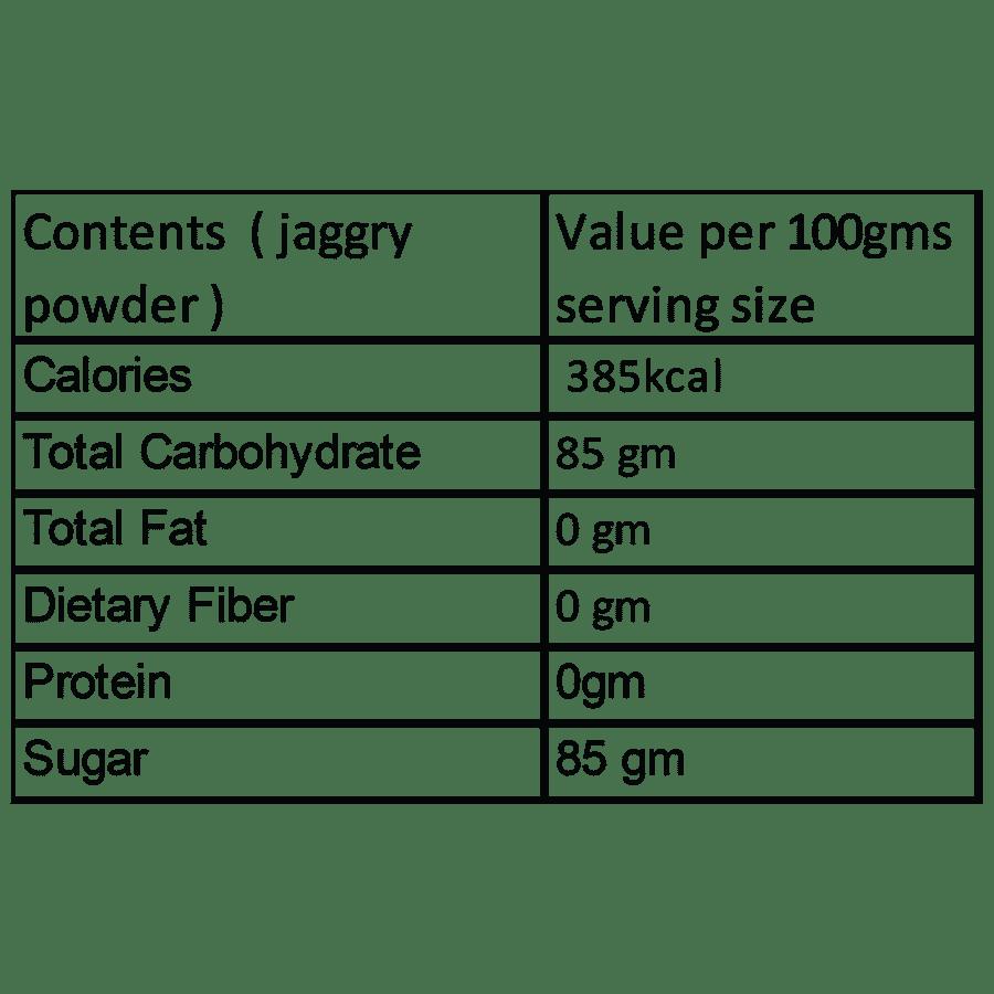 MeraKisan Organic Jaggery Powder, 500 g Pouch
