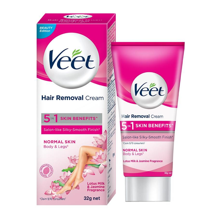 Buy Veet Hair Removal Cream For Normal Skin Online At Best Price