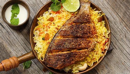 Fish Biryani Recipe How To Make Fish Biryani Recipe Bigbasket Cookbook Bigbasket Com