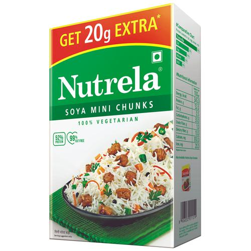 You won't find a better image of nutrela soya chunks