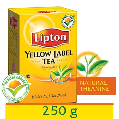 Lipton Yellow Label 250 Gm Carton: Buy Online At Best