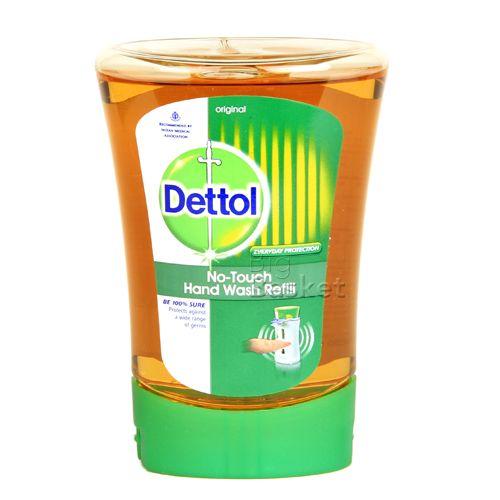 Dettol no touch hand wash refill original 250 ml bottle
