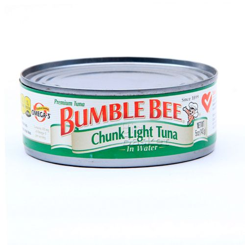 bumble bee tuna in water chunk light 142 gm tin buy online at best. Black Bedroom Furniture Sets. Home Design Ideas