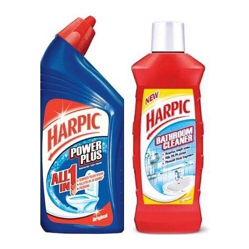 Harpic Bathroom Floor Cleaner : Harpic combo bathroom power plus toilet cleaner