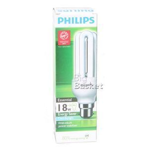 Philips Essential Energy Saver CFL Lamp - 18 watts 1 nos