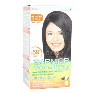 Garnier Hair Colour Cream 1 Natural Black 40 ml
