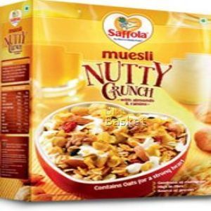 Saffola Muesli - Nutty Crunch 225 gm