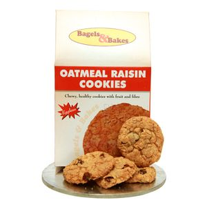 Bagels And Bakes Cookies - Oatmeal Raisin (Eggless) 150 gm: Buy online ...