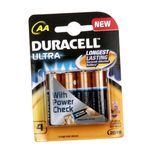 Duracell Batteries - Ultra with Power Check (AA) 4 nos