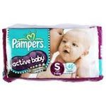 Pampers Active Baby Diapers Small 46 nos