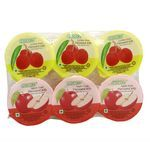 Cocon Lychee Fruit & Apple Fruit Flavoured Jelly 118 gm Pack of 6