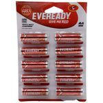 Eveready Red Battery - AAA, 1.5 V 10 nos