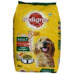 Pedigree Adult Dogs Chicken and Vegetables 3 kg