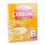 Nestle  Cerelac Wheat Orange Stage 2 300 gm