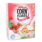 Kelloggs Real Strawberry Puree Flakes Breakfast 100 gm