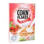 Kelloggs Real Strawberry Puree Flakes Breakfast 275 gm