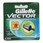 Gillette Vector Plus Cartridge 4 nos