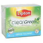 Lipton Clear Green Tea Mint Bags 10 nos