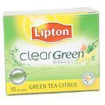 Lipton Clear Green Tea Citrus Bags 10 nos
