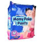 Mamy Poko Pant Style Diapers Medium 7-12 kg 20 nos