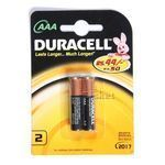 Duracell Alkaline Battery - AAA 2 nos Pack of 2