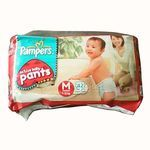 Pampers Active baby Medium 7-12 kg 42 nos