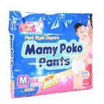 Mamy Poko Pant Style Diapers Medium 7-12 Kgs 64 nos