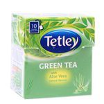 Tetley Tea Bag- Green Tea With Aloe Vera 10 nos