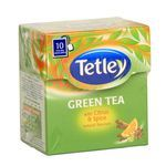 Tetley Green Tea Bags with Citrus & Spice 10 nos
