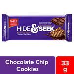 Parle Hide & Seek Chocolate Chip Cookies 33 gm
